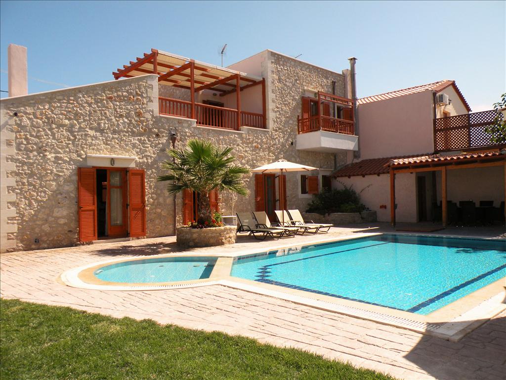 Amazing villas villa stavromenos rethymnon crete for Amazing holiday rentals